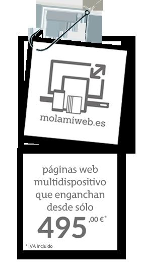 Tu web responsive que engancha desde 495 euros
